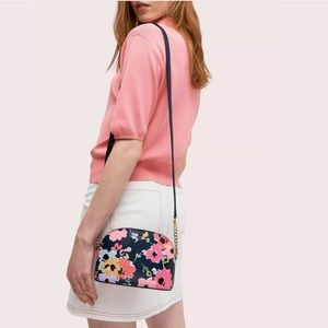 NWT Kate spade small dome crossbody in wildflower
